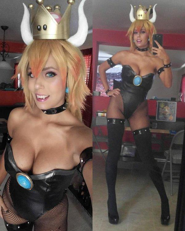Bowsette cosplay female