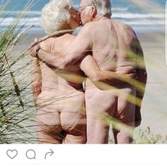 Mature naked couples pics at the beach