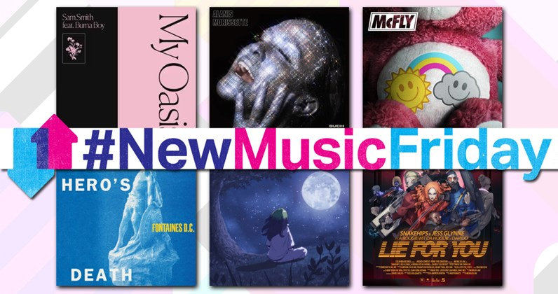 New music charts this week